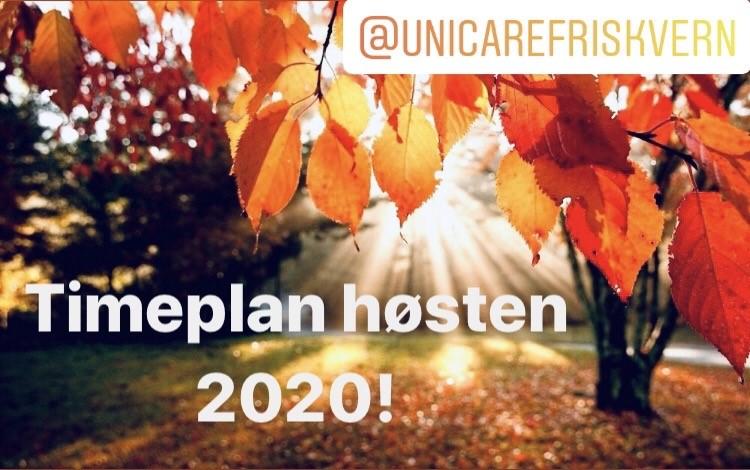 Unicare Friskvern Aktiv høsten 2020
